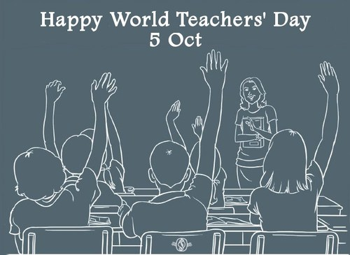 Happy World Teachers' Day 5 Oct