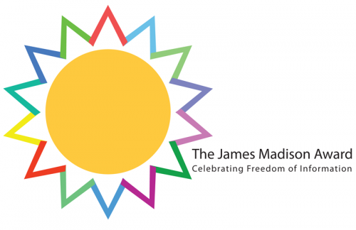 The James Madison Award.  Celebrating Freedom of Information