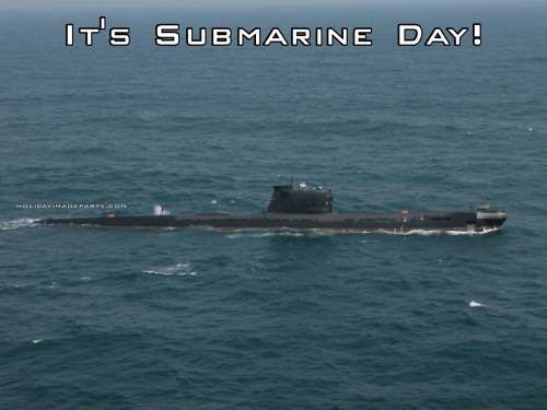 It's Submarine Day!