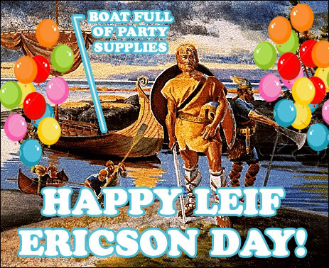 Happy Leif Ericson Day