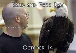 Bald and Free Day October 14