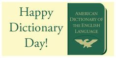 Happy Dictionary Day