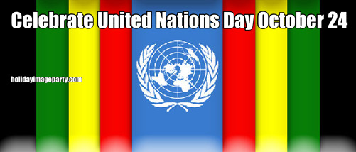 Celebrate United Nations Day October 24