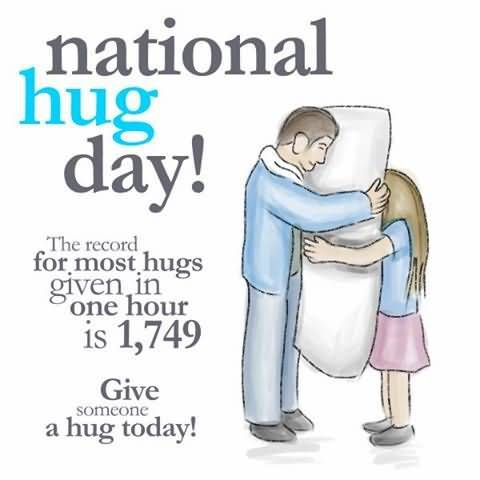 National hug day!