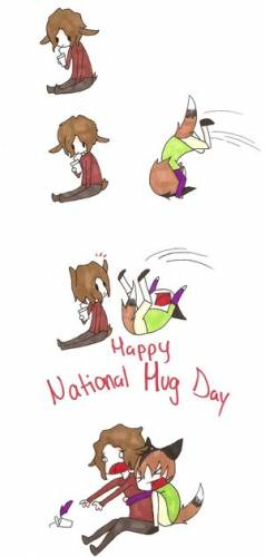 Happy National Hug Day