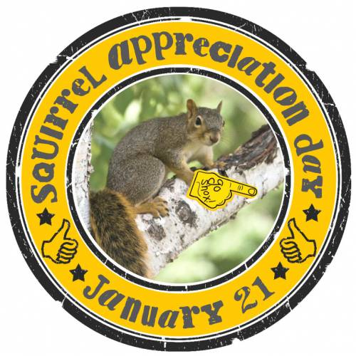 January 21 Squirrel Appreciation Day