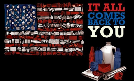America Recycles Day It all comes back to you