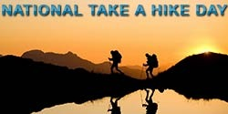 National Take A Hike Day