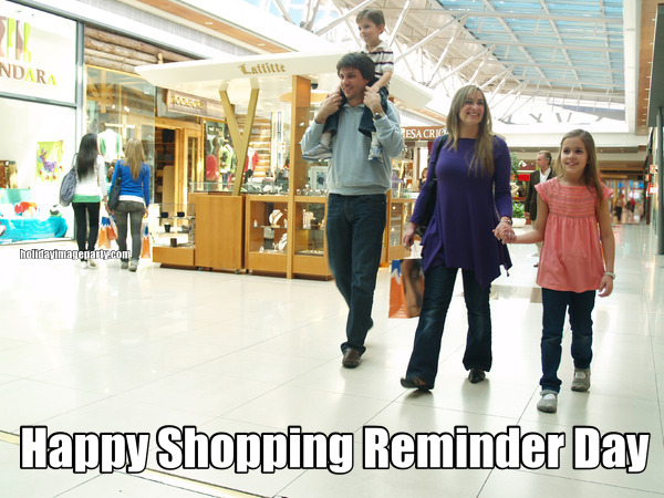 Happy Shopping Reminder Day