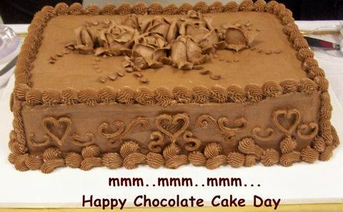 Happy Chocolate Cake Day