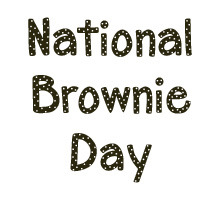 National Brownie Day