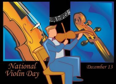 National Violin Day December 13