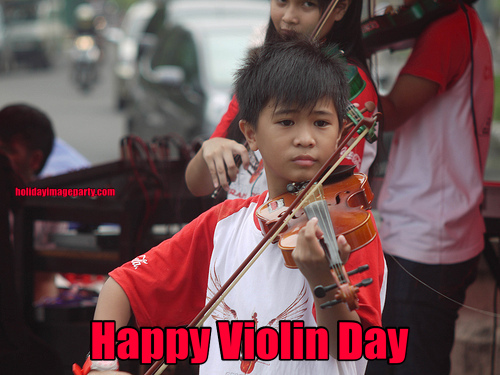 Happy Violin Day