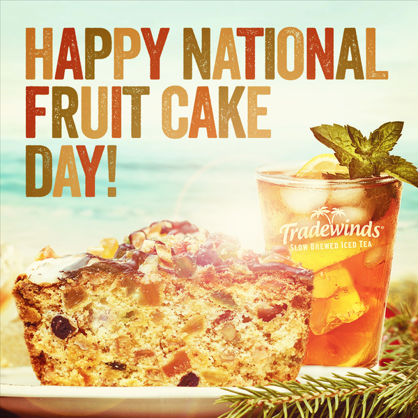 Happy National Fruitcake Day