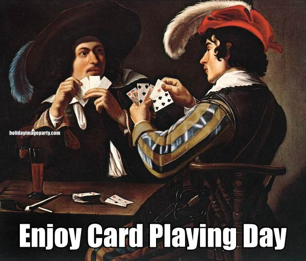 Enjoy Card Playing Day