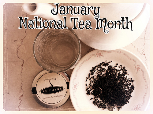 January National Tea Month