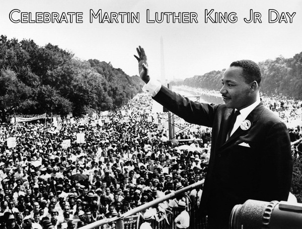 Celebrate Martin Luther King Jr Day