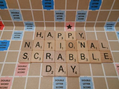 Happy National Scrabble Day