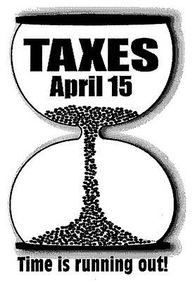 Taxes April 15. TIme is running out!