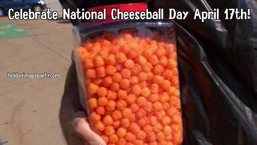 Celebrate National Cheeseball Day April 17th!