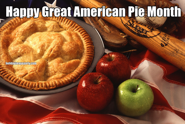 Happy Great American Pie Month