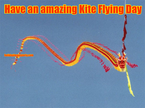 Have an amazing Kite Flying Day