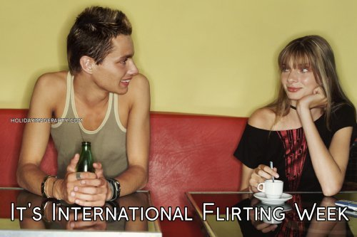 It's International Flirting Week