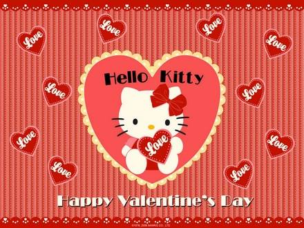 Hello Kitty - Happy Valentine's Day