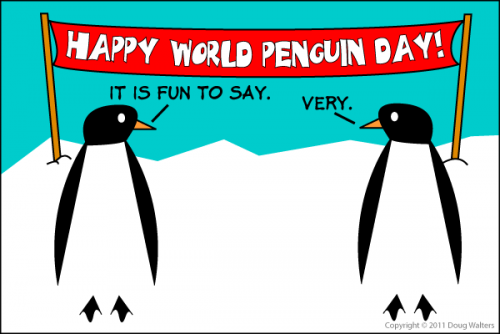 Happy World Penguin Day!