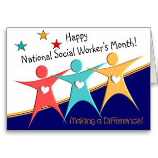 Happy National Social Worker's Month