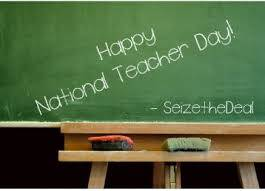 Happy National Teacher day!