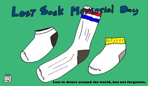 Lost Sock Memorial Day
