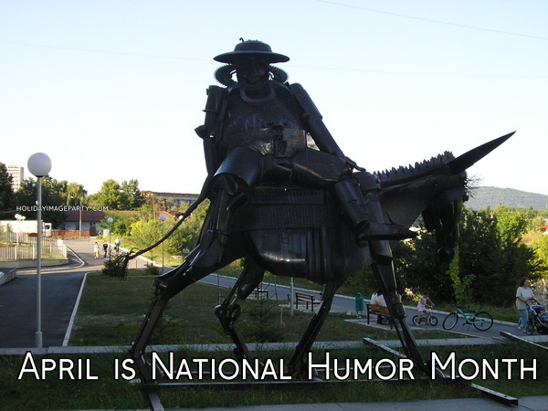 April is National Humor Month