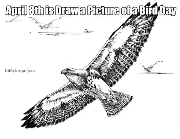 April 8th is Draw a Picture of a Bird Day