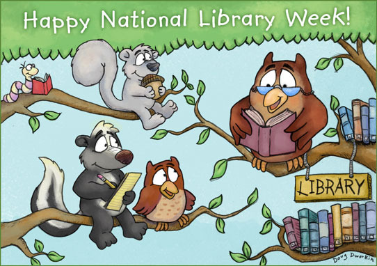 Happy National Library Week