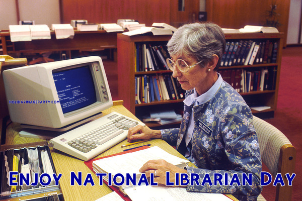 Enjoy National Librarian Day