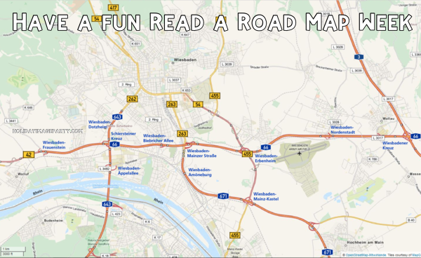 Have a fun Read a Road Map Week