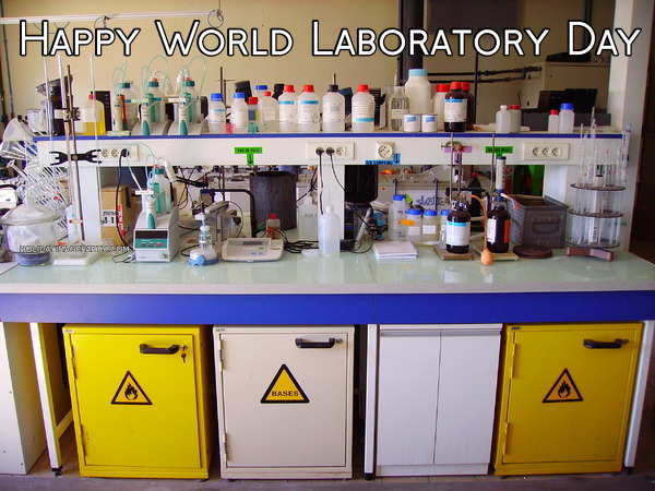 Happy World Laboratory Day