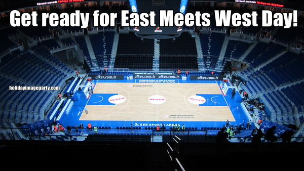 Get ready for East Meets West Day!