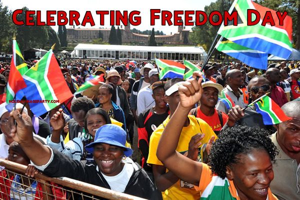 Celebrating Freedom Day