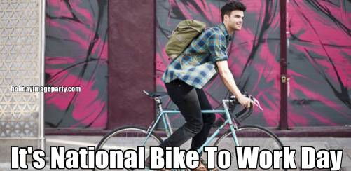 It's National Bike To Work Day