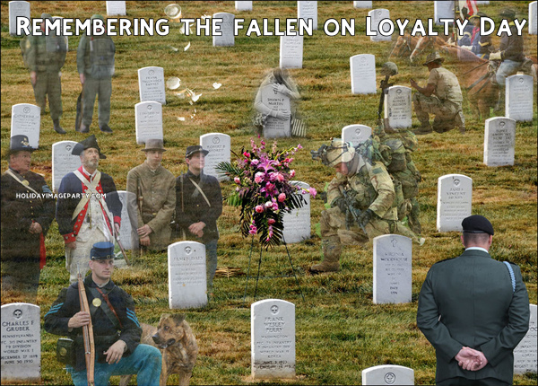 Remembering the fallen on Loyalty Day