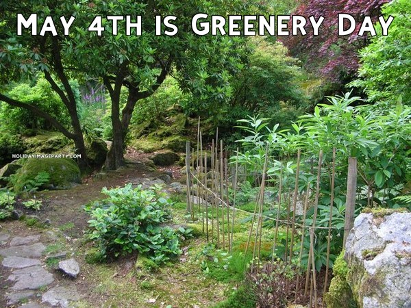 May 4th is Greenery Day