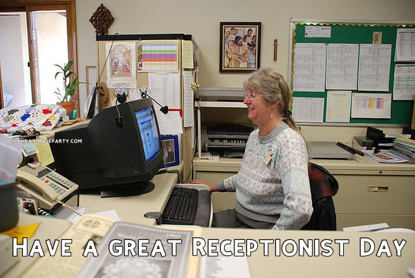 Have a great Receptionist Day