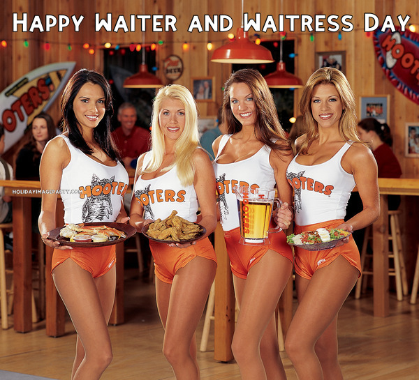 Happy Waiter and Waitress Day