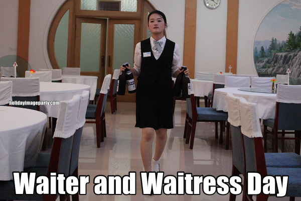 Waiter and Waitress Day