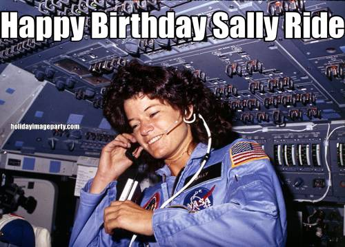 Happy Birthday Sally Ride