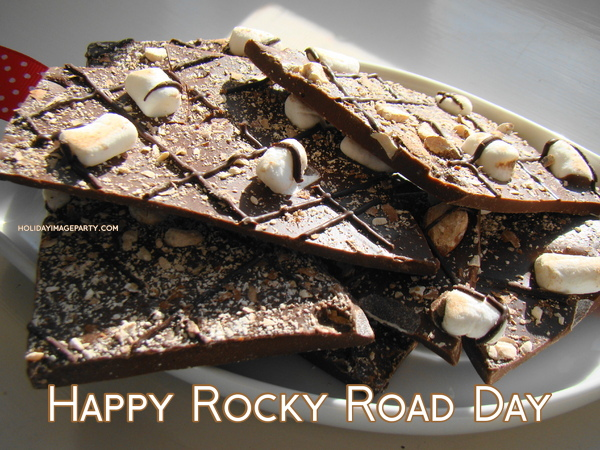 Happy Rocky Road Day