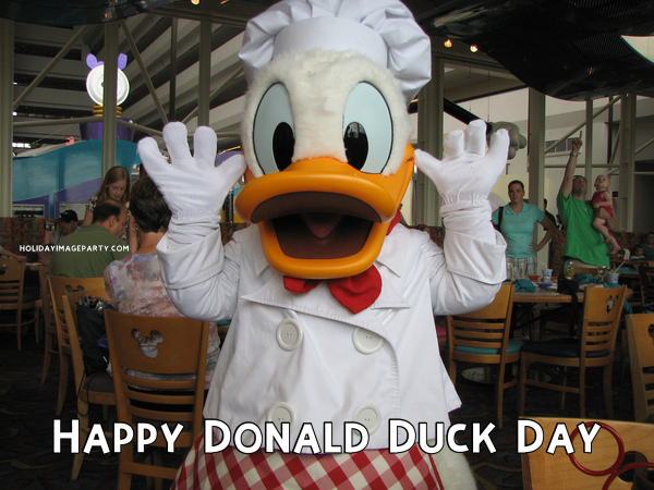 Happy Donald Duck Day