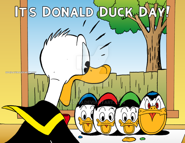 It's Donald Duck Day!